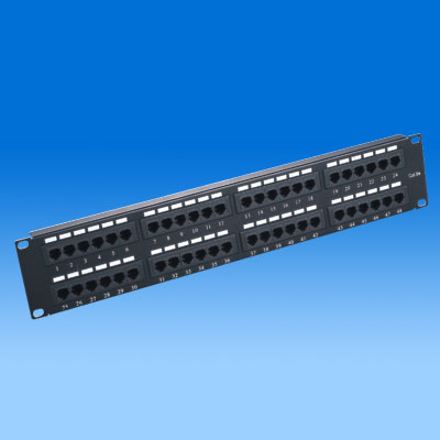 ZH-PP07 CAT5E 48 PORTS UTP PATCH PANEL