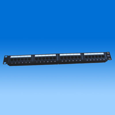 ZH-PP09 CAT6 24 PORTS PATCH PANEL