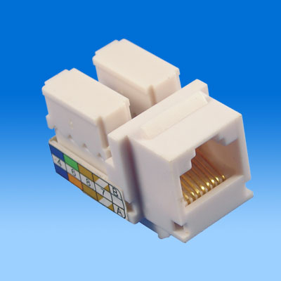 ZH-505 CAT5E KEYSTONE JACK